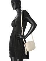 Crossbody Bag  Leather Milano Beige CA160613-vue-porte