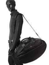 Travel Bag Casual Sport Eden park Black casual sport 9SVE0002-vue-porte