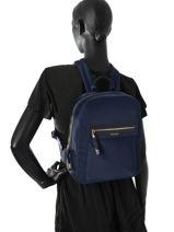 Backpack Tous Blue brunock chain MOC-BCH-vue-porte