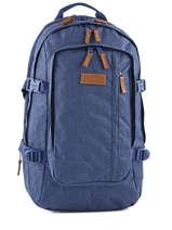 Backpack 2 Compartments + 15'' Pc Eastpak Blue K221