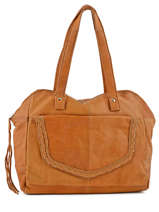 Sac Shopping Monica Cuir Pieces Marron monica 17080825