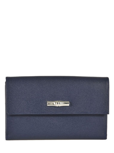 Longchamp Roseau Wallet Blue