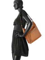 Shoulder Bag Lora Leather Gianni chiarini Yellow lora 5796-RMN-vue-porte