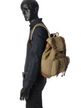 Backpack Ruitertassen Green leisure 4516-vue-porte