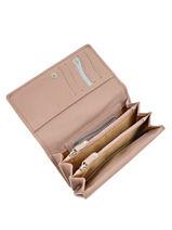 Wallet Leather Crinkles Pink 14001-vue-porte