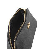 Trousse Cuir Coach Noir casual 53067-vue-porte