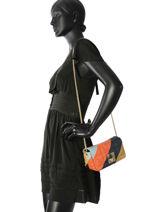 Shoulder Bag Copain Leather Sonia rykiel Blue copain 8270-43-vue-porte