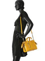 Crossbody Bag Sonia rykiel Yellow laura r 8284-57-vue-porte