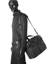 Briefcase Samsonite Black zenith 63N005-vue-porte