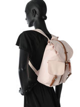 Backpack 1 Compartment Herschel Pink classics 10301-vue-porte