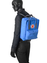 Backpack 1 Compartment Fjallraven Blue kanken 23510-vue-porte