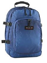 Sac à Dos 2 Compartiments + Pc 15'' Eastpak Bleu authentic k520