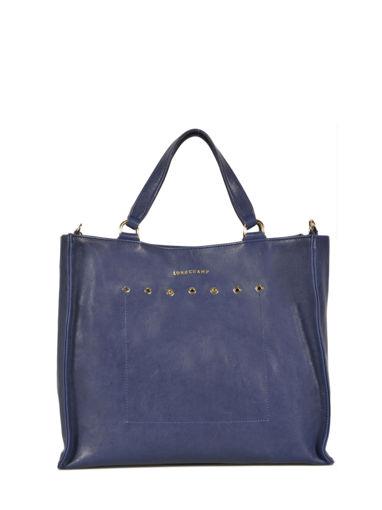 Longchamp Paris Rocks Handbag Blue