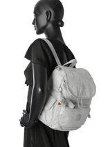 Backpack Kipling Gray basic + 15641-vue-porte