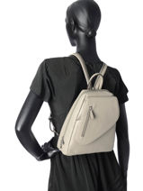 Backpack Hexagona Gray pretty 464783-vue-porte