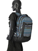 Backpack 2 Compartments Dakine Multicolor girl packs 1000-747-vue-porte