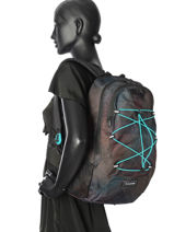 Backpack 1 Compartment Dakine Multicolor girl packs 8210-072-vue-porte