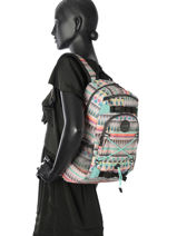 Backpack 1 Compartment Dakine Multicolor girl packs 8210-105-vue-porte