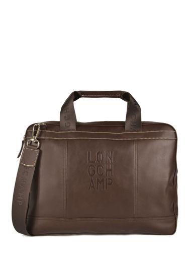 Longchamp Cavalier Serviette Marron
