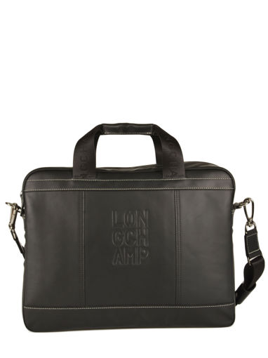 Longchamp Cavalier Briefcase Black