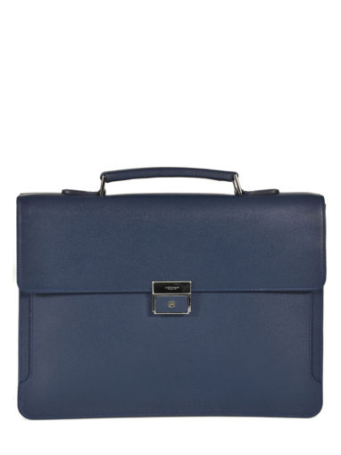 Longchamp RACING + Briefcase Blue