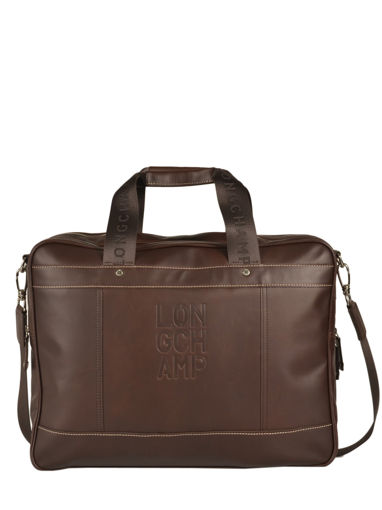 Longchamp Cavalier Briefcase Brown