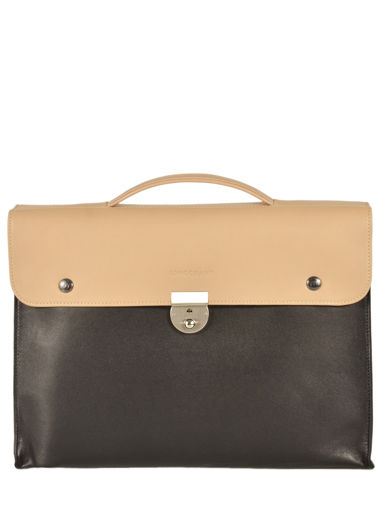 Longchamp Briefcase Beige
