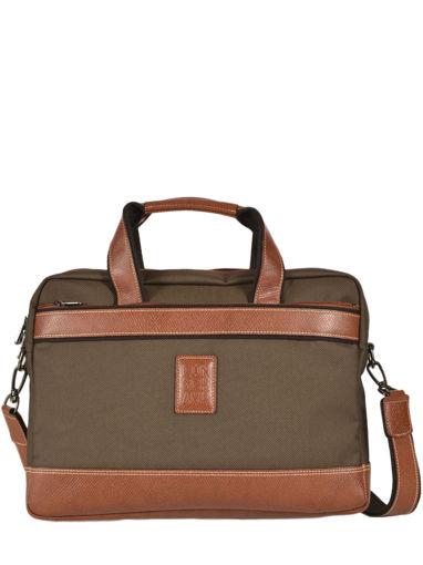 Longchamp Boxford Briefcase Green