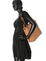 Shopper Walsh Leather Michael kors Brown walsh S7GWAE6L-vue-porte
