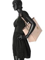 Shoulder Bag A4 Walsh Leather Michael kors Pink walsh S7GWAT4L-vue-porte