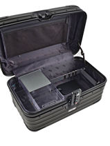 Beauty Case Hardside Topas Stealth Rimowa Black topas stealth 92038010-vue-porte