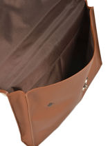 Longchamp Briefcase Brown-vue-porte