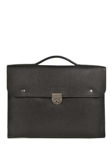 Longchamp Le foulonné Briefcase Black