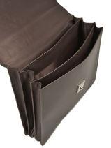 Longchamp Le foulonné Briefcase Black-vue-porte