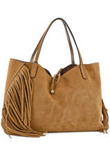 Sac Cabas A4 Camp Gianni chiarini Marron camp 5791-CM