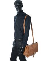 Crossbody Bag Paul marius Brown vintage POSTIE-S-vue-porte