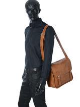 Crossbody Bag Paul marius Beige vintage M-vue-porte