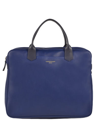 Longchamp Longchamp 2.0 Briefcase Blue
