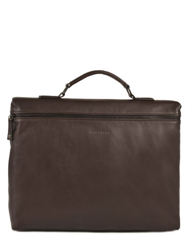 Longchamp Parisis Briefcase Brown