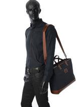 Longchamp S@fari sur Seine Hobo bag Blue-vue-porte