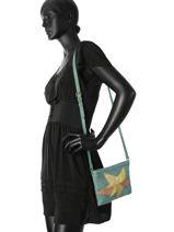 Sac Bandouliere Sharla Cuir Pieces Vert sharla 17081592-vue-porte