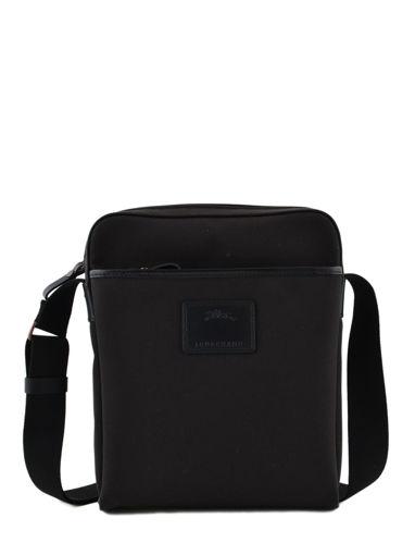 Longchamp S@fari sur Seine Hobo bag Black