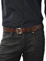 Belt Adjustable Katana Brown atlanta C0004-vue-porte