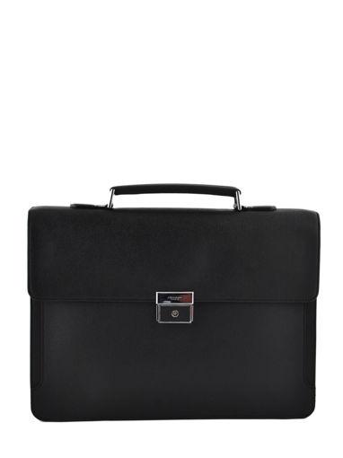 Longchamp RACING + Briefcase Black