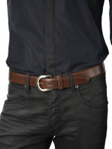 Belt Adjustable Katana Brown atlanta C0007-vue-porte
