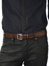 Belt Adjustable Petit prix cuir Green sport 10751-vue-porte