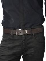 Belt Reversible Tommy hilfiger Brown belt AM01304-vue-porte