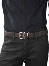 Ceinture Ajustable Armani jeans Marron belt CC884-vue-porte
