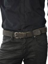 Ceinture Cowboysbag Noir cowboys belt 35321-vue-porte