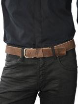 Belt Cowboysbag Brown cowboys belt 35321-vue-porte